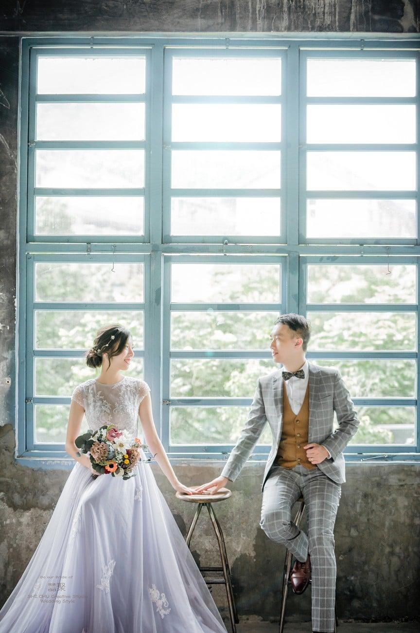 在囍聚,拍出你的愛情婚紗照,大溪老茶廠篇