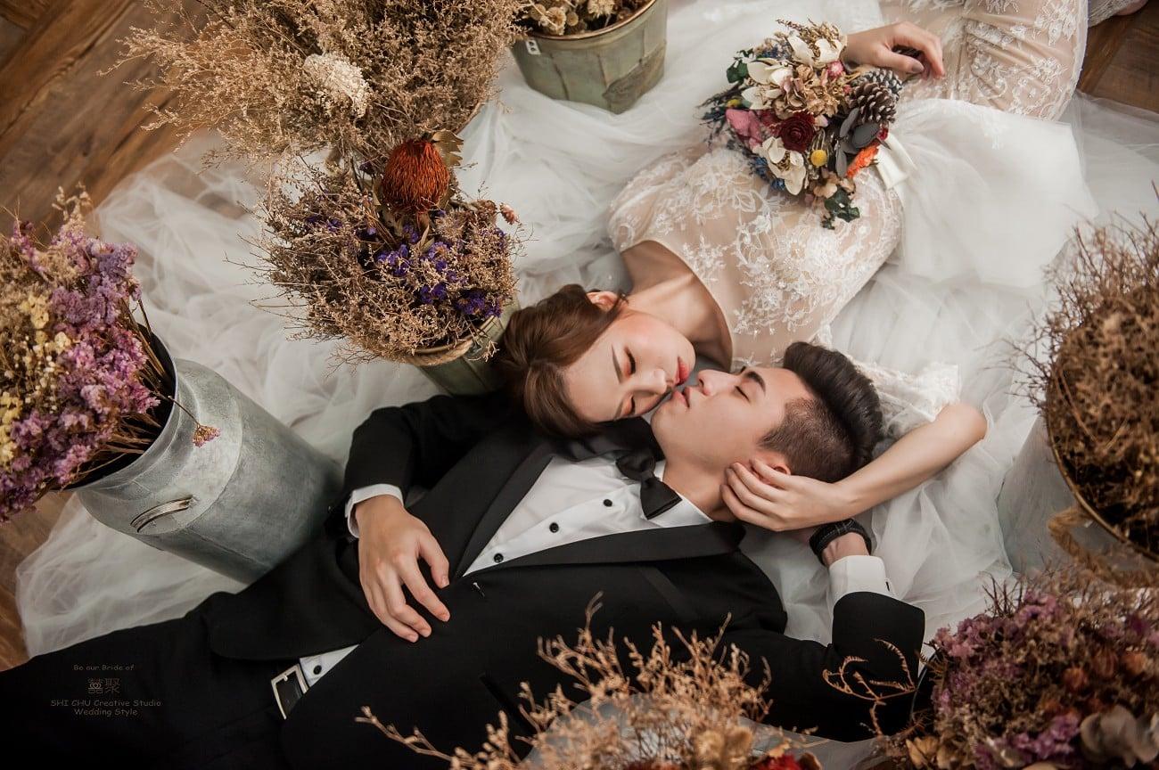 充滿溫度又貼心的囍聚婚紗工作室,攝影棚拍篇