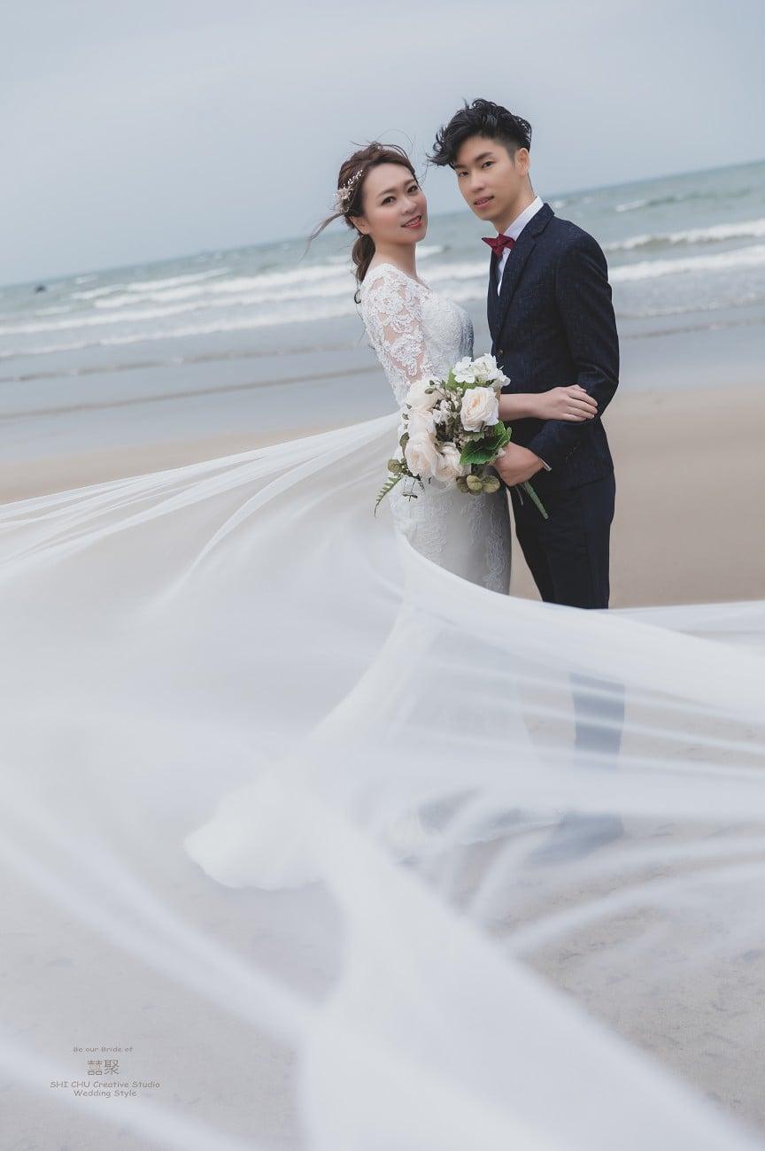 充滿溫度又貼心的囍聚婚紗工作室,淡水沙崙篇