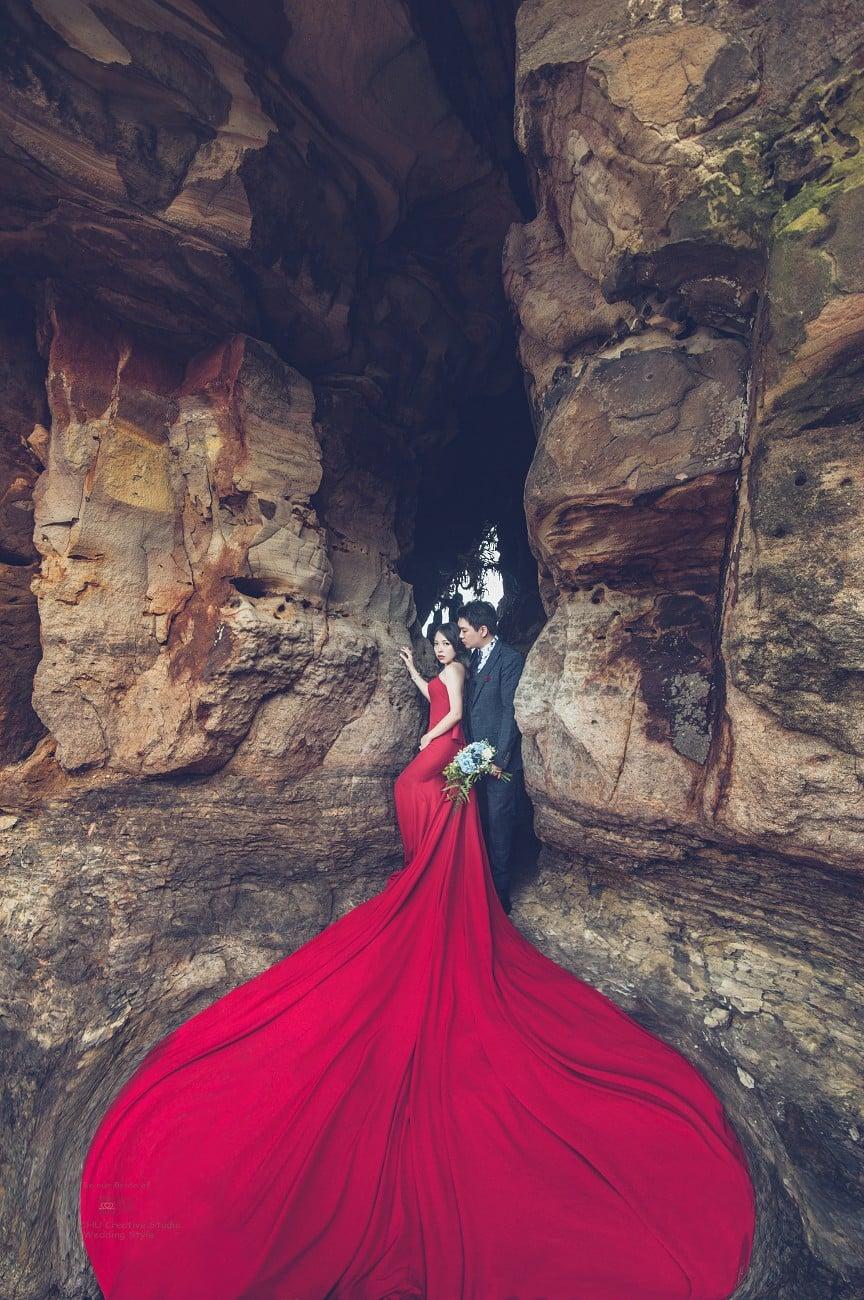 趁年輕:在囍聚拍下屬於自己的性感婚紗,神秘海岸篇