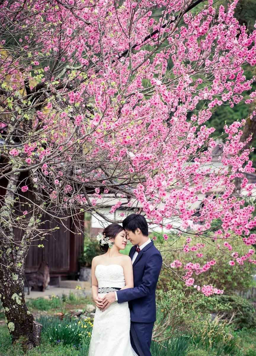 用照片敘述愛情的超強團隊,囍聚婚紗工作室 京都篇