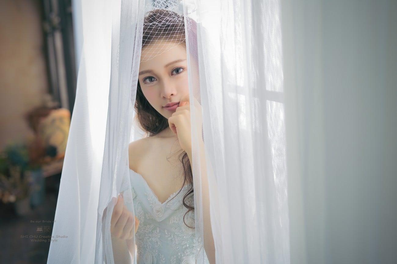 趁年輕:在囍聚拍下屬於自己的性感婚紗 花棚篇