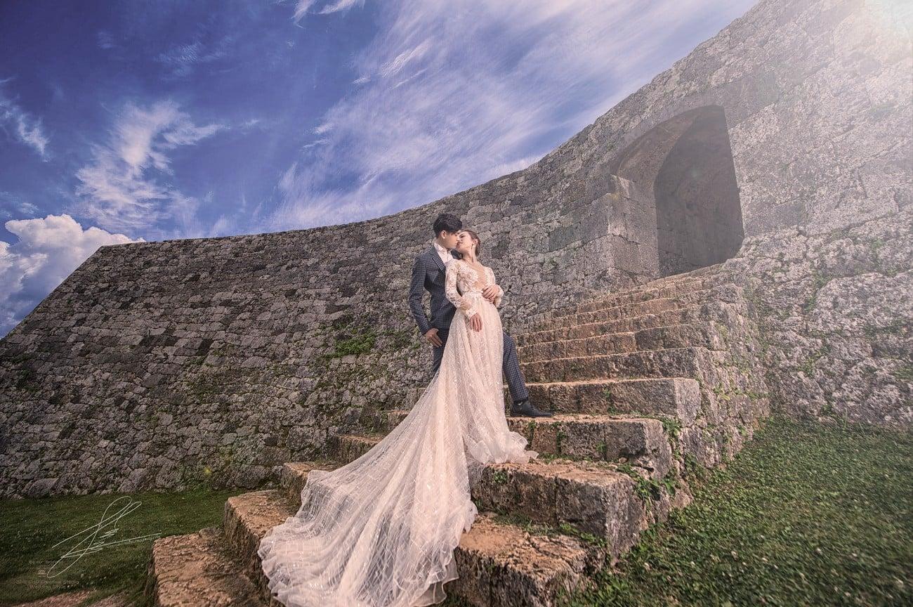 用照片敘述愛情的超強團隊,囍聚婚紗工作室 沖繩篇