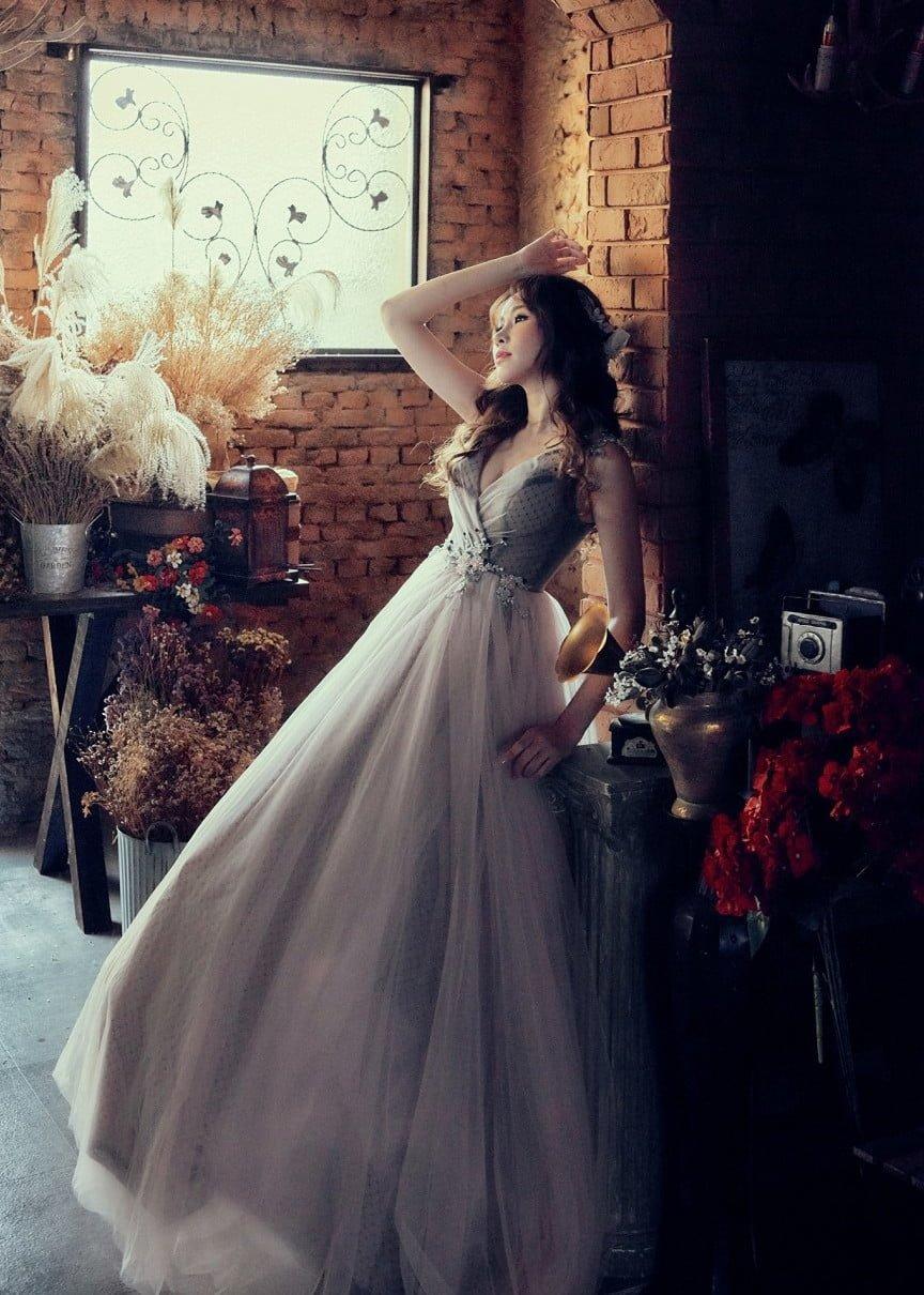 SHICHU BRIDEL_拍攝用手工禮服 (1)